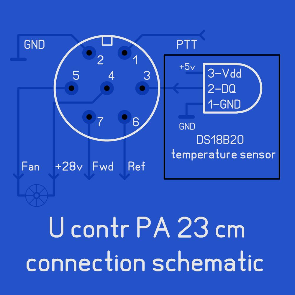 Назначение выводов 7-pin разъема