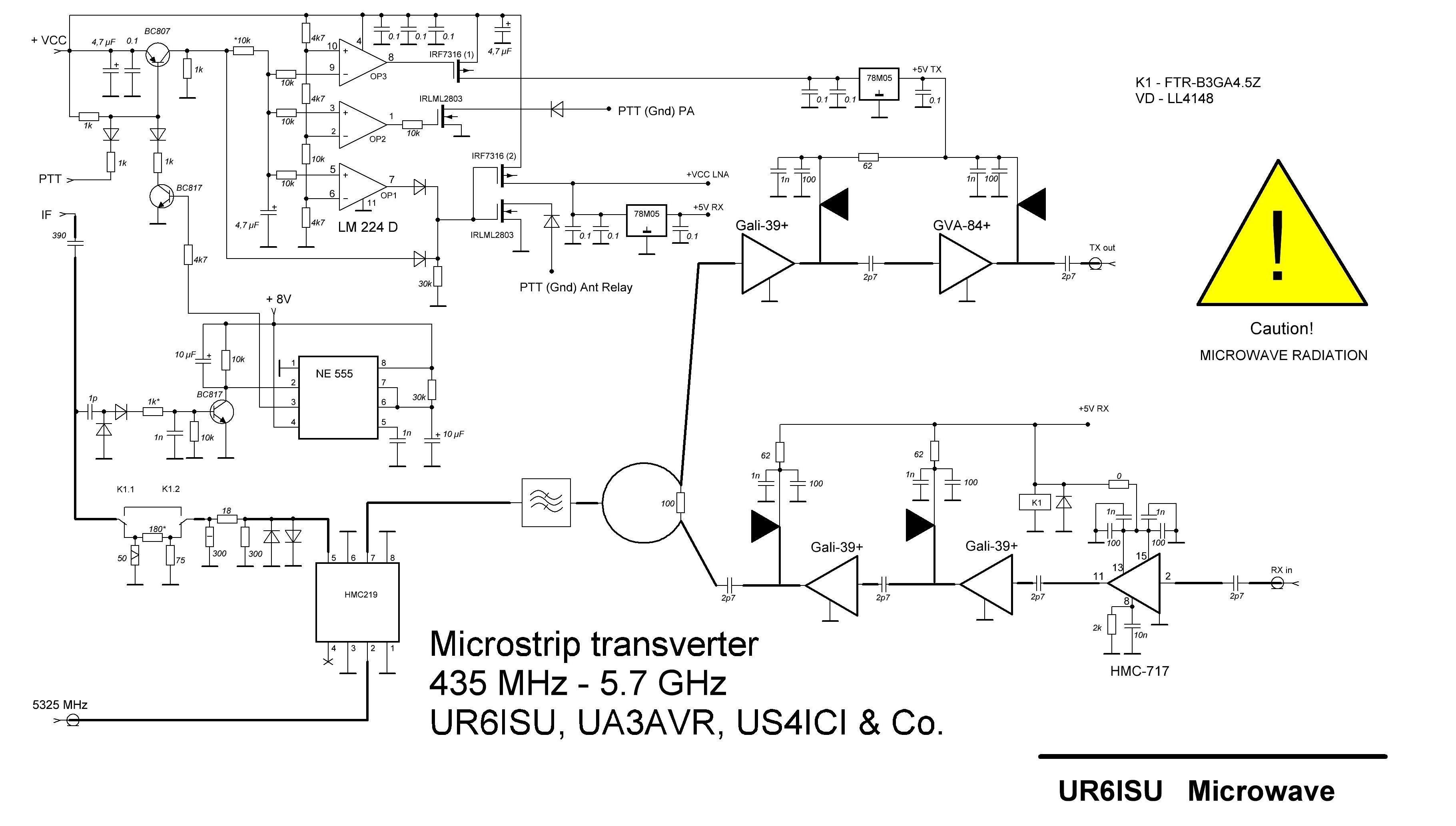 transverter 6cm ur6isu 5760