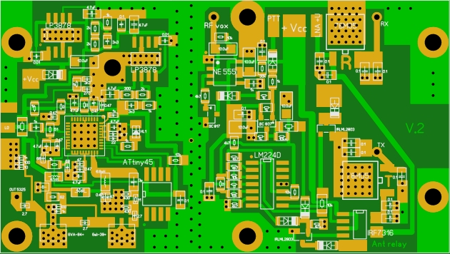PCB syntezator